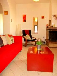 Casa Rosa lounge area