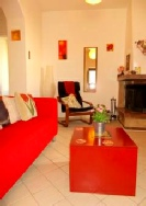 Casa Rosa's comfy lounge